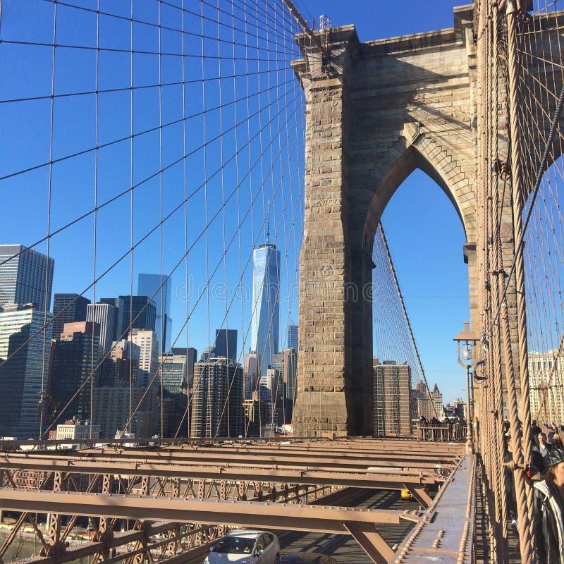 Мост Broklyn стоковые фотографии rf