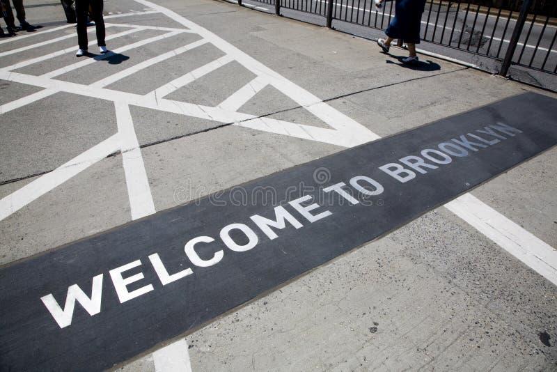 мост brooklyn известный стоковые изображения