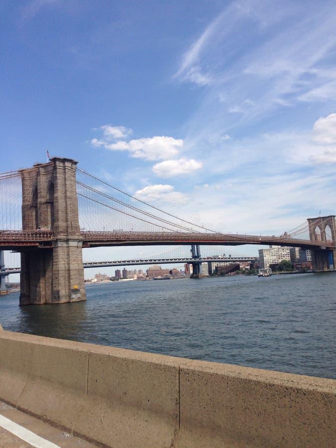 мост brooklyn стоковая фотография