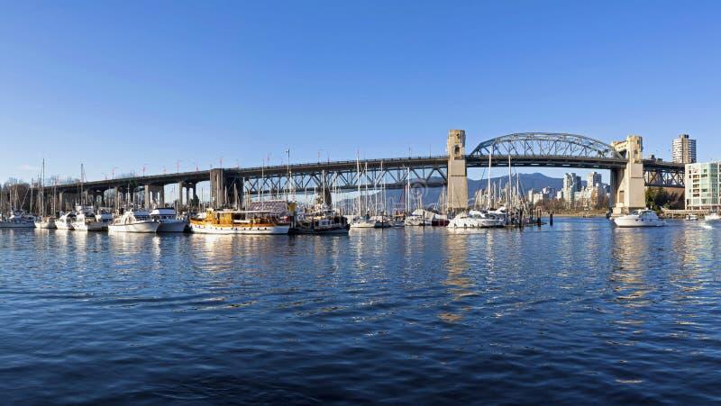 Мост Burrard стоковая фотография rf