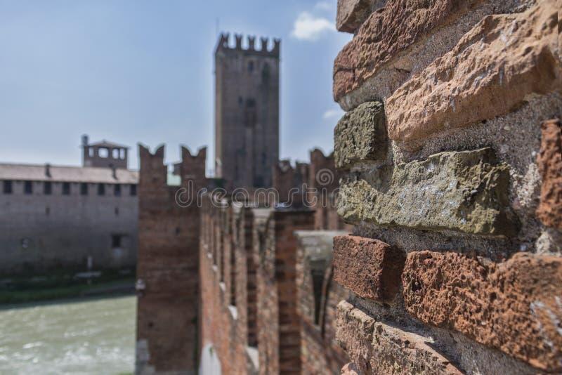 Мост Castelvecchio стоковое изображение