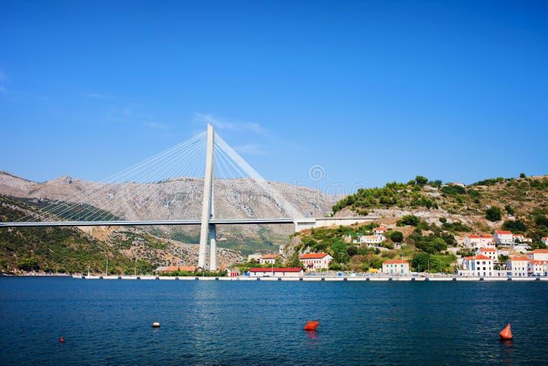 мост dubrovnik стоковые изображения rf