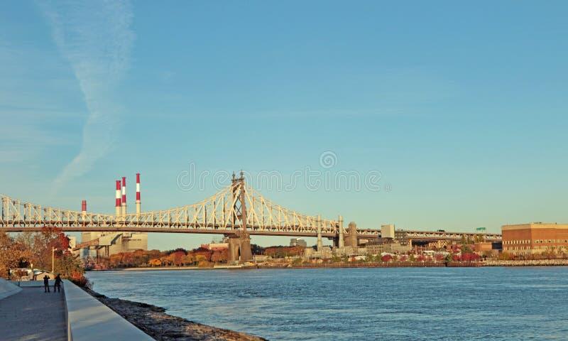 Мост Ed Koch Queensboro стоковые изображения rf