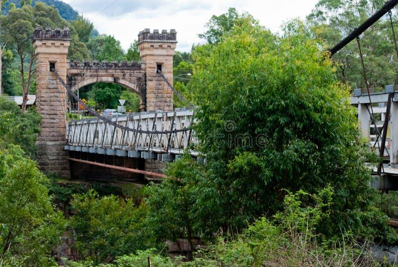 Мост Hampden, долина кенгуруа стоковое изображение rf