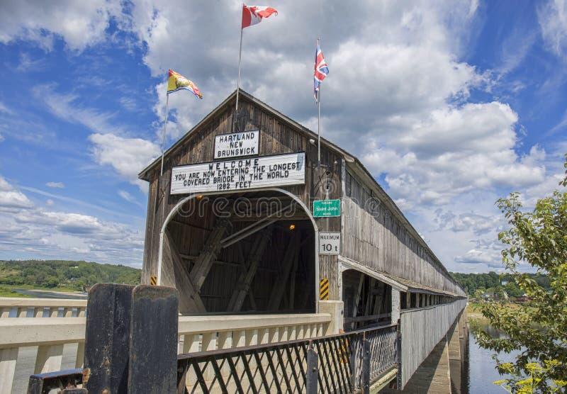 Мост Hartland стоковые изображения rf