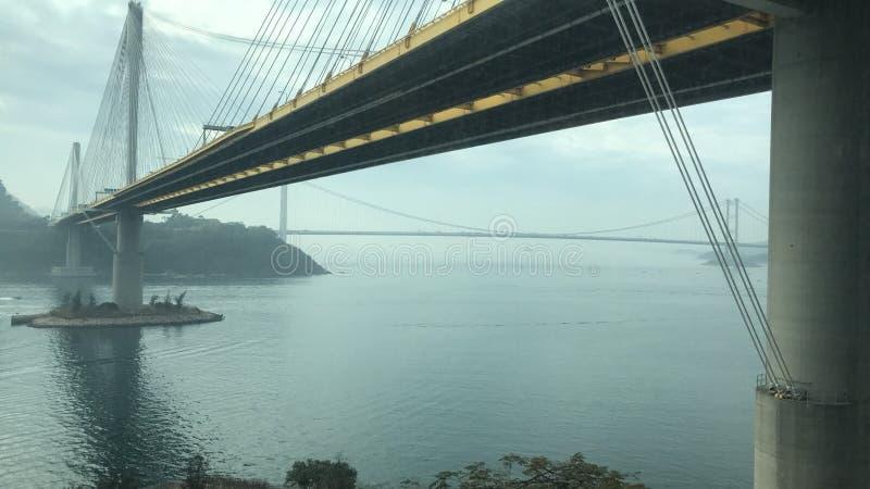 мост Hong Kong стоковые фото