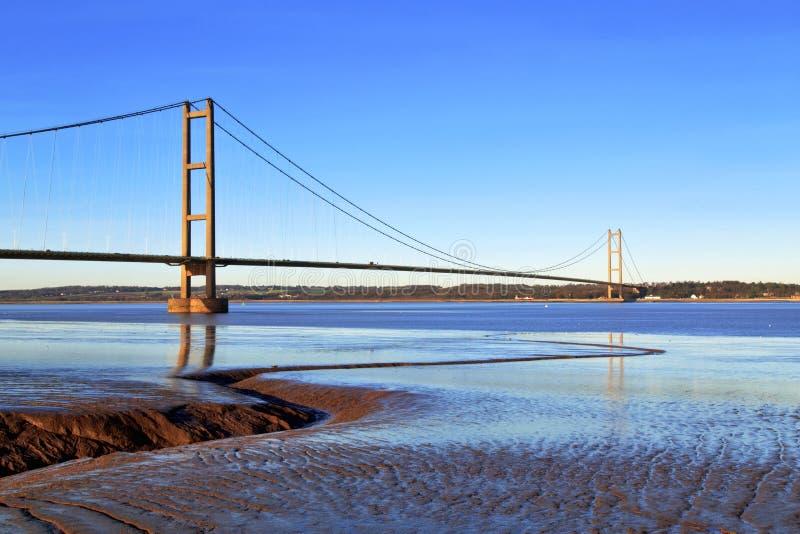 Мост Humber стоковое изображение