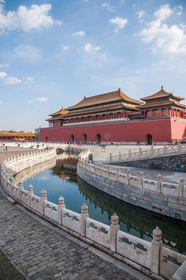 Download Мост Jinshui музея национального дворца Пекина Стоковое Фото - изображение насчитывающей дело, здорово: 81808878