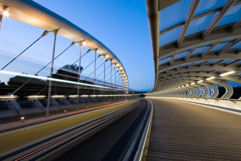 Мост Kaiku, Barakaldo стоковые фото