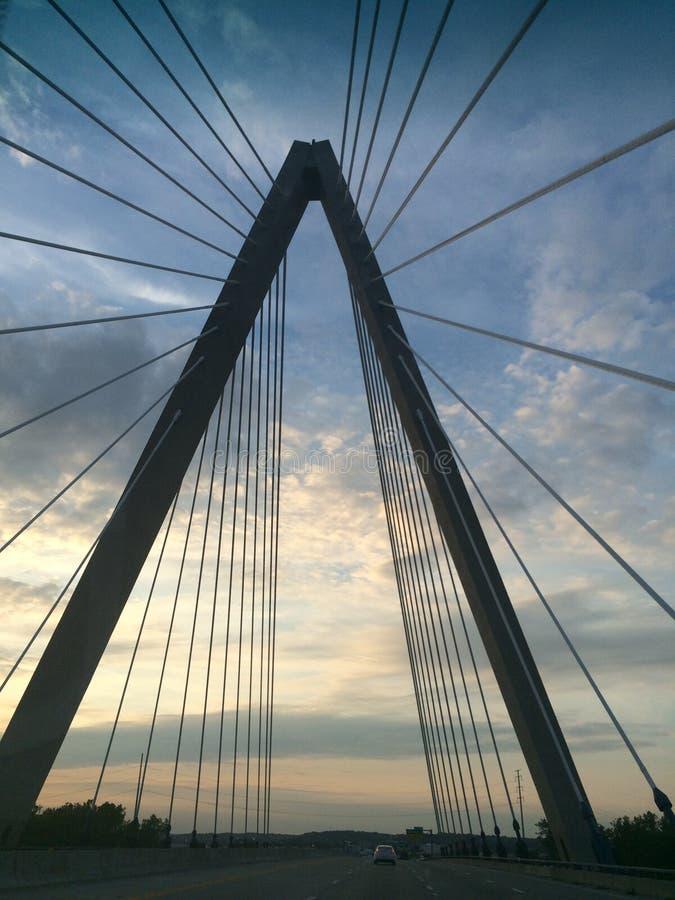 Мост Kansas City стоковое изображение rf