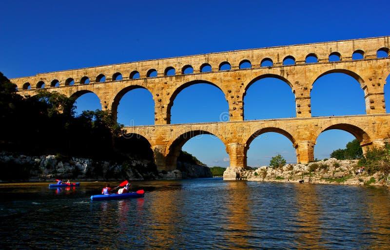 мост kayaks ближайше стоковое фото