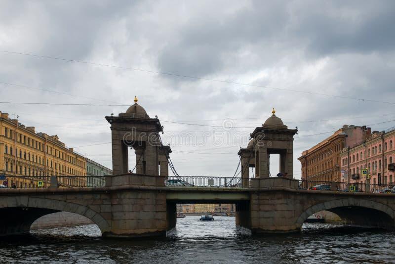 Мост Lomonosov стоковое фото