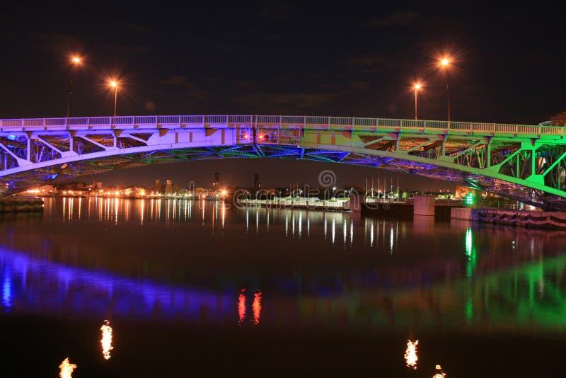 Мост Lorain стоковые изображения