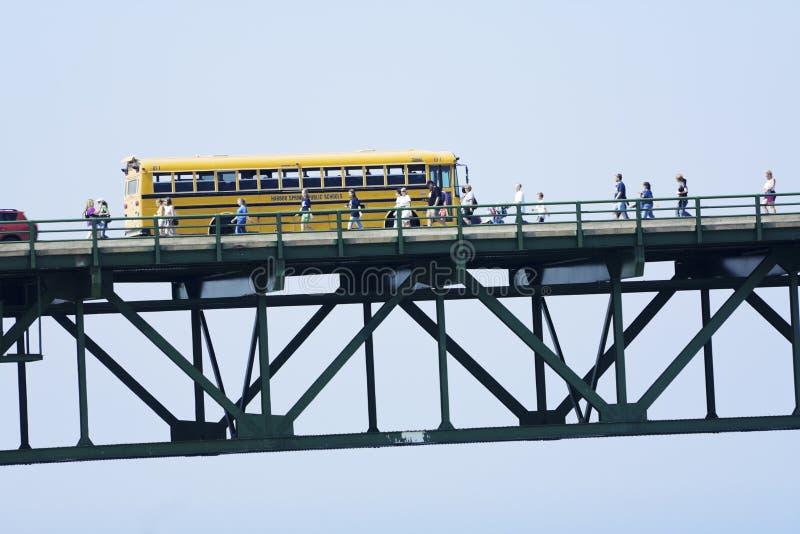 Мост Mackinac стоковые изображения