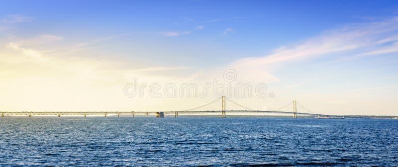 Мост Mackinac стоковая фотография rf