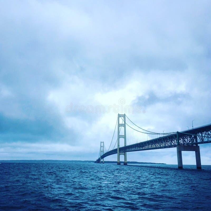 Мост Mackinaw стоковые изображения