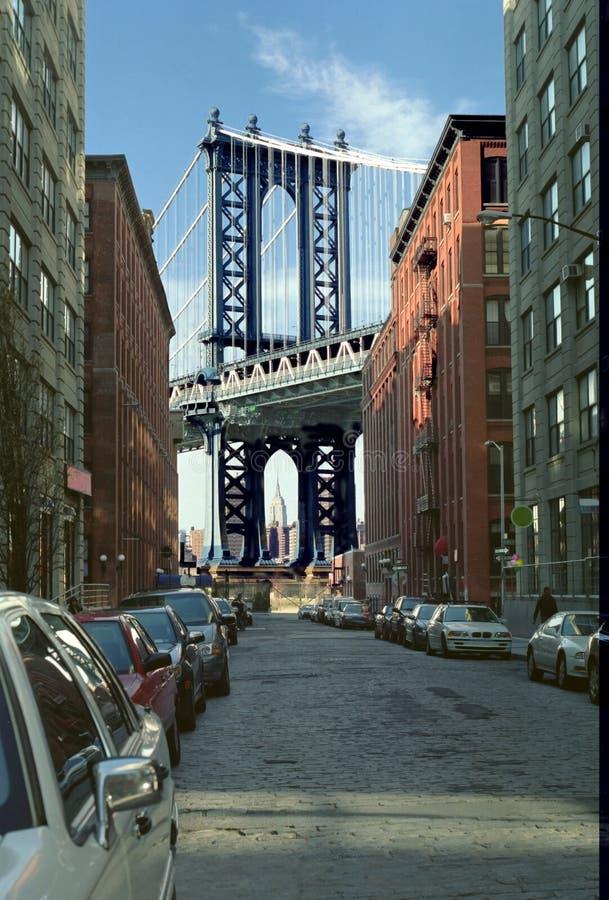 мост manhattan New York стоковая фотография rf