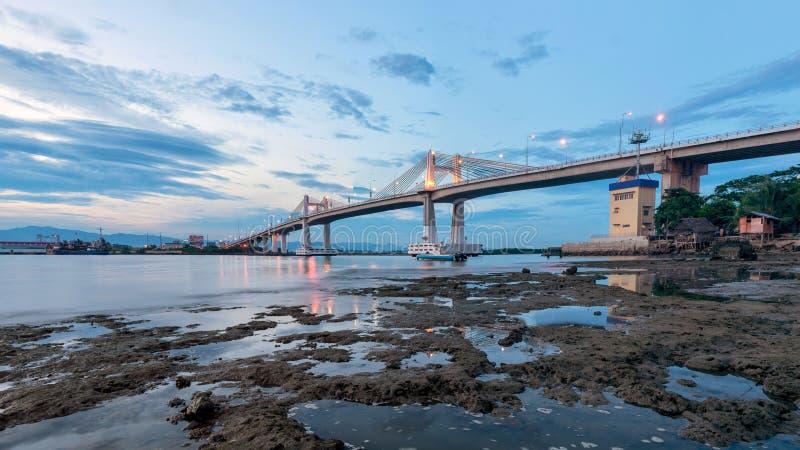 Мост Marcelo Fernan стоковое фото