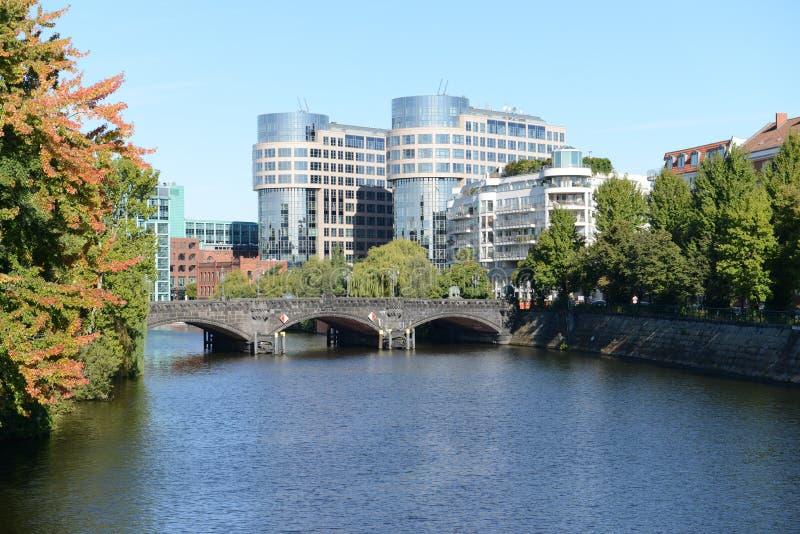 Мост Moabiter - Берлин стоковое изображение