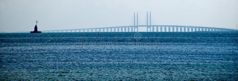 Мост Oresund стоковое изображение rf