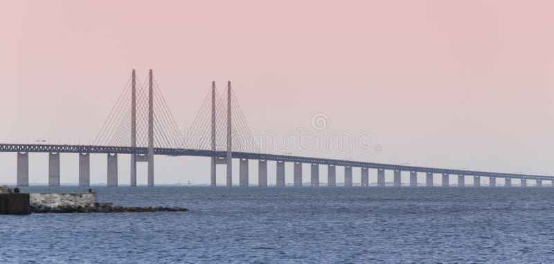 Мост Oresund Copenhagen2 стоковая фотография rf