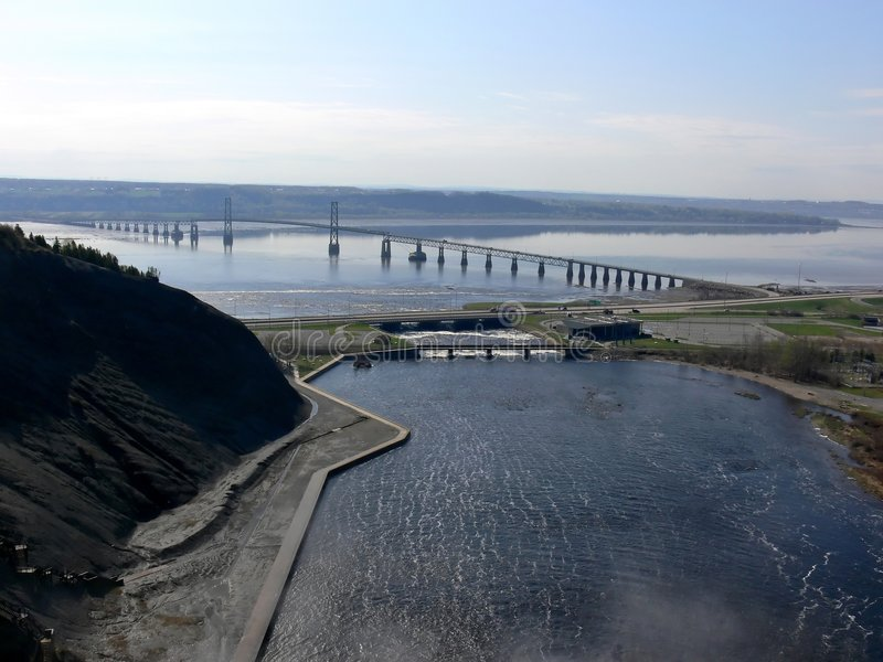 мост orleans к стоковое фото rf