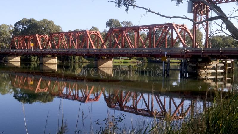 Мост Paringa стоковые фото