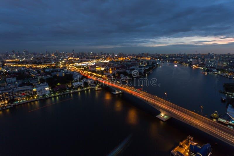 Мост Phra Pinklao стоковое фото rf