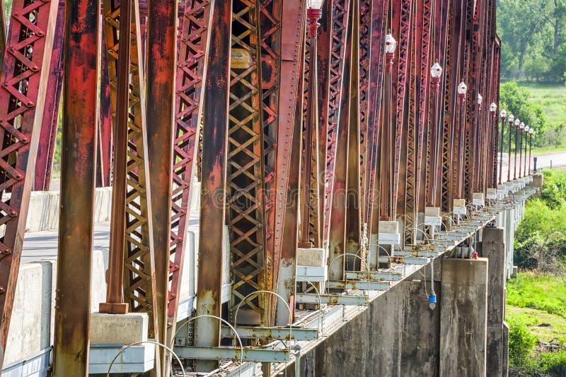 Мост Plattsmouth стоковое изображение