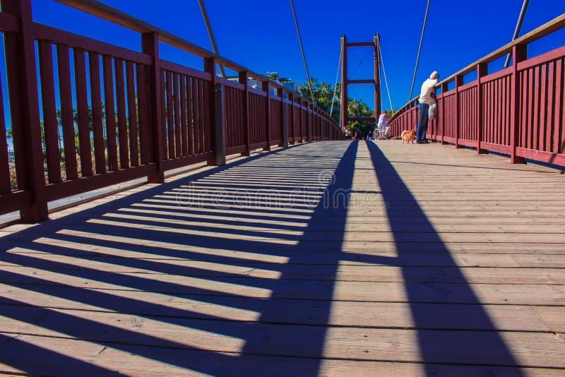 Мост Puerto Banus, Марбелья стоковое изображение rf
