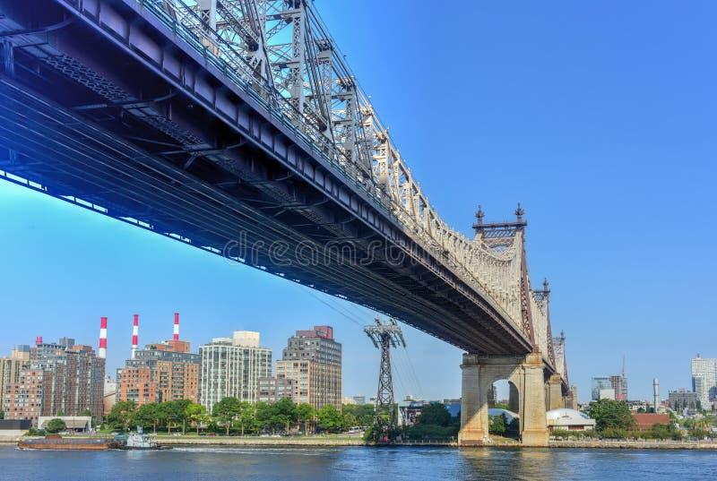 Мост Queensboro стоковые фотографии rf