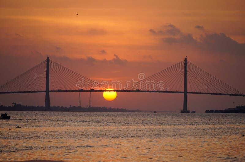 Мост RachMieu стоковые изображения rf