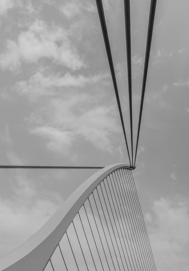 мост samuel beckett стоковые изображения