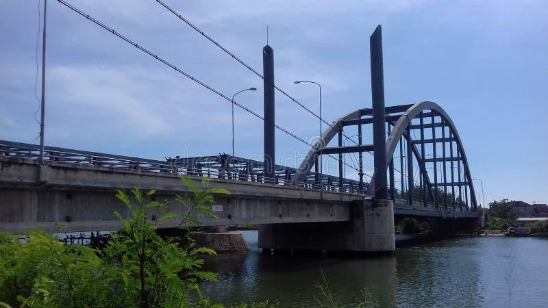 Мост Sedayulawas стоковые изображения rf