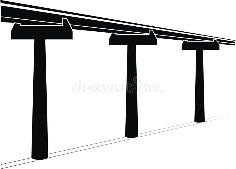 мост skyway бесплатная иллюстрация