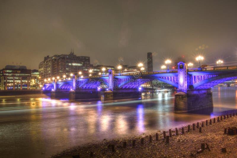 Мост Southwark, Лондон стоковое фото rf