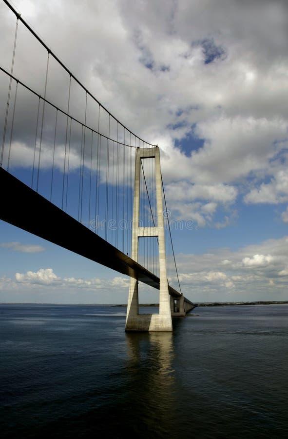 Мост Sprogo стоковые изображения rf