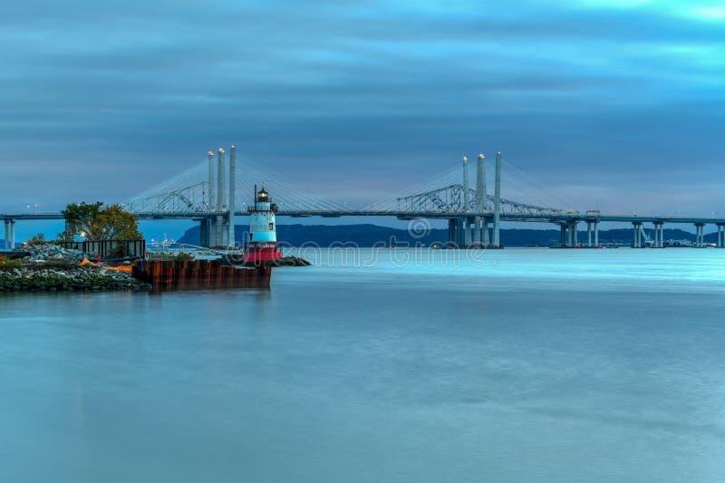 Мост Tappan Zee - Нью-Йорк стоковая фотография