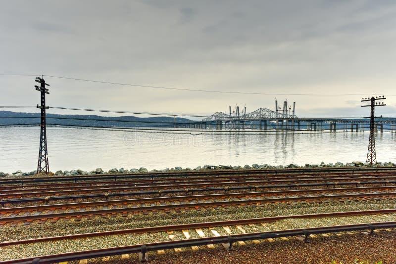 Мост Tappan Zee - Нью-Йорк стоковое фото rf