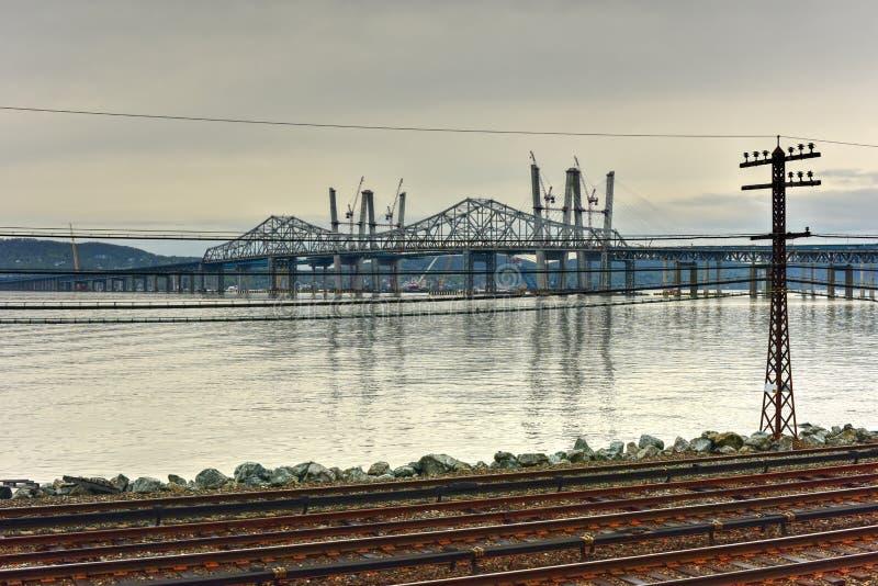 Мост Tappan Zee - Нью-Йорк стоковое фото