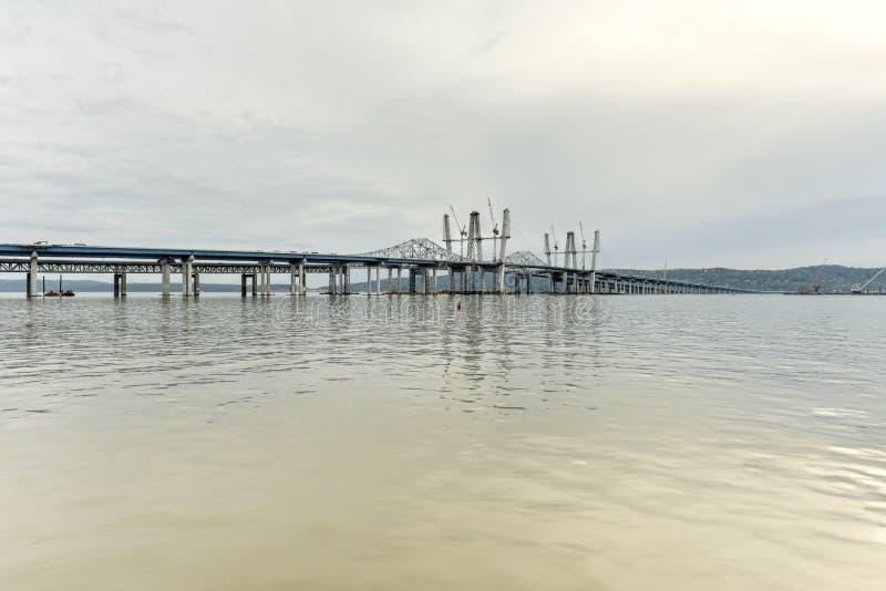Мост Tappan Zee - Нью-Йорк стоковое изображение