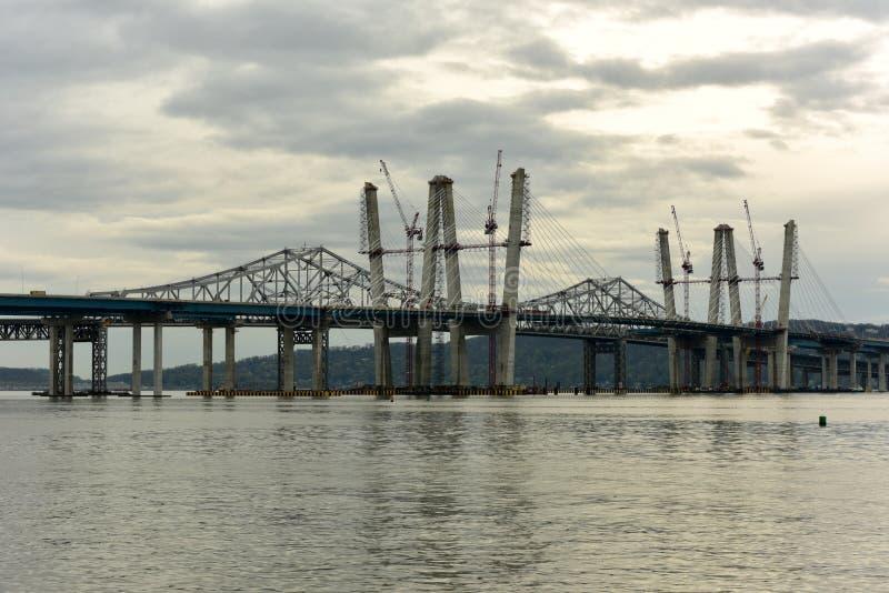 Мост Tappan Zee - Нью-Йорк стоковая фотография rf