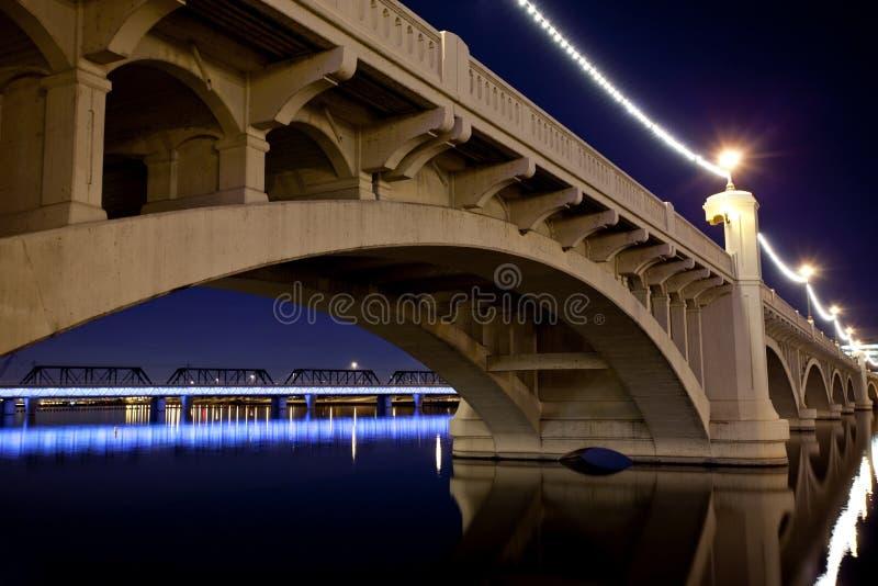 мост tempe Аризоны стоковая фотография rf