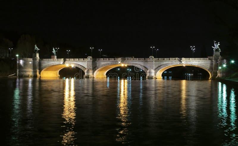 мост umberto стоковая фотография
