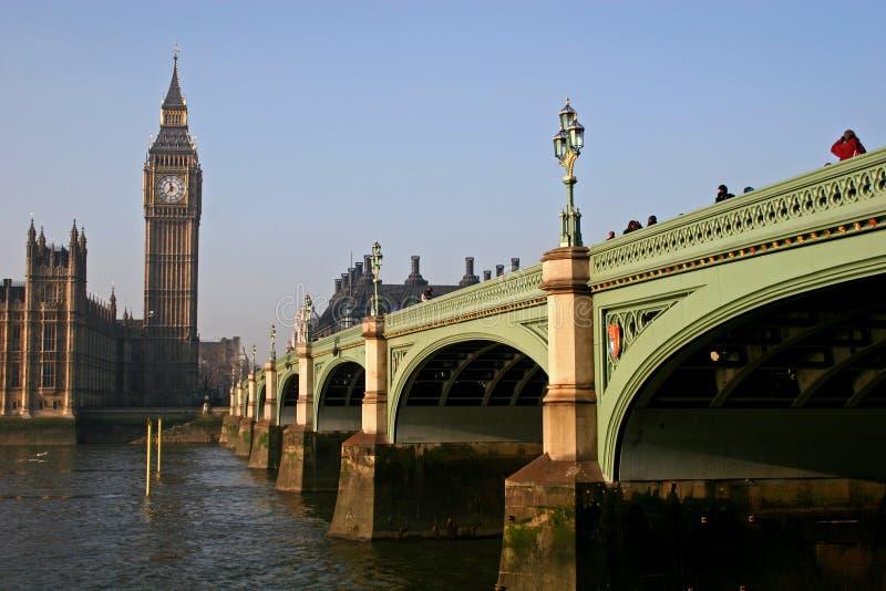 мост westminster стоковая фотография