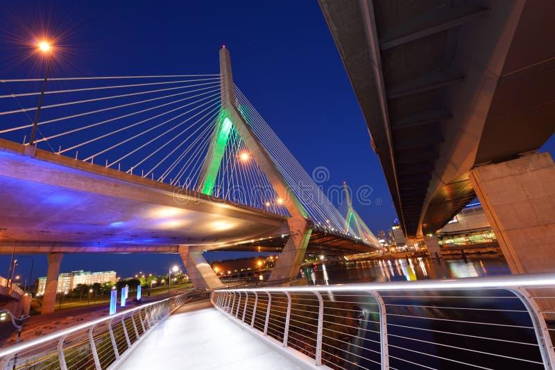 Мост Zakim стоковые фото