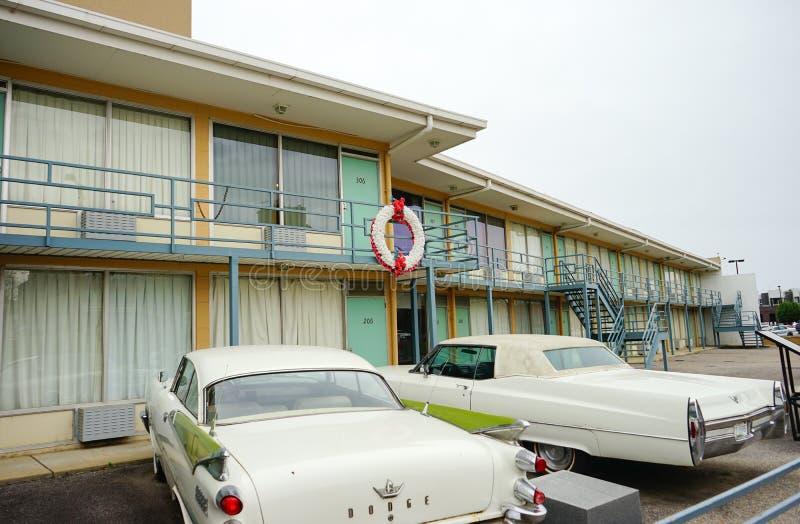 Мотель в реке Миссисипи стоковые изображения