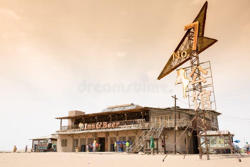 мотель no7 пустыни tengger стоковые изображения