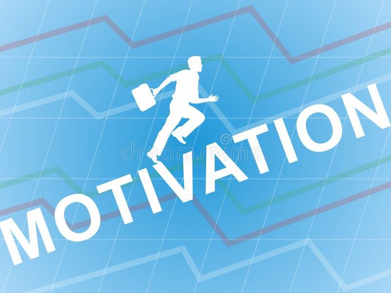 Мотивация иллюстрация вектора