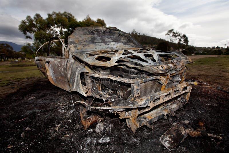 мотор автомобиля поджога стоковые фотографии rf